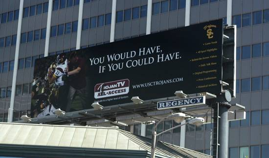 USC Billboard