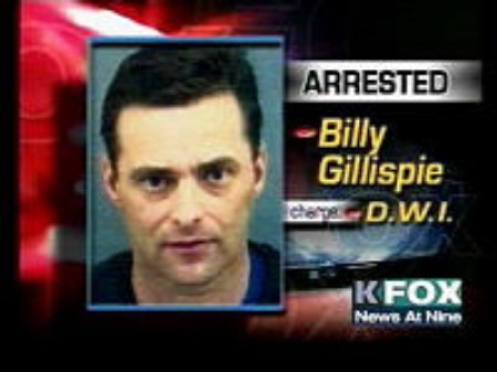 Billy Gillispie Arrested