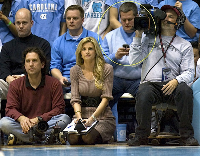 erin-andrews-unc-game