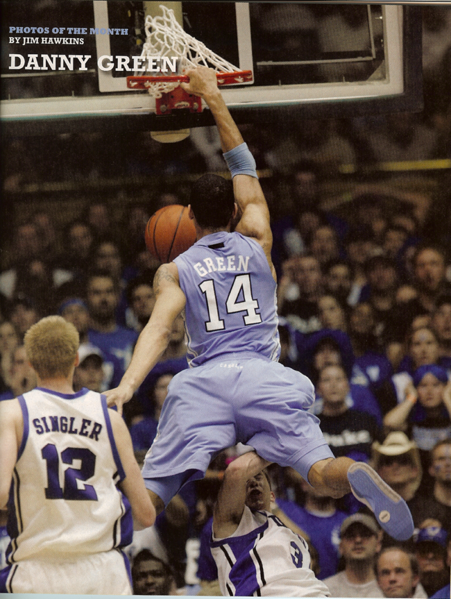 The Heels are Posterizing Everyone in Their Path