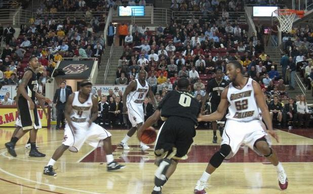 Teague Splits the BC Defense